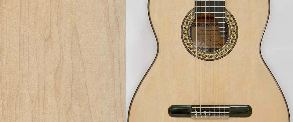 گیتار چوب افرا