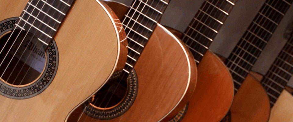 آشنایی با ساختار گیتار c40
