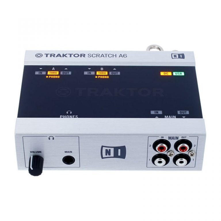 کارت صدا نیتیو اینسترومنتز Native Instruments TRAKTOR SCRATCH Audio 6
