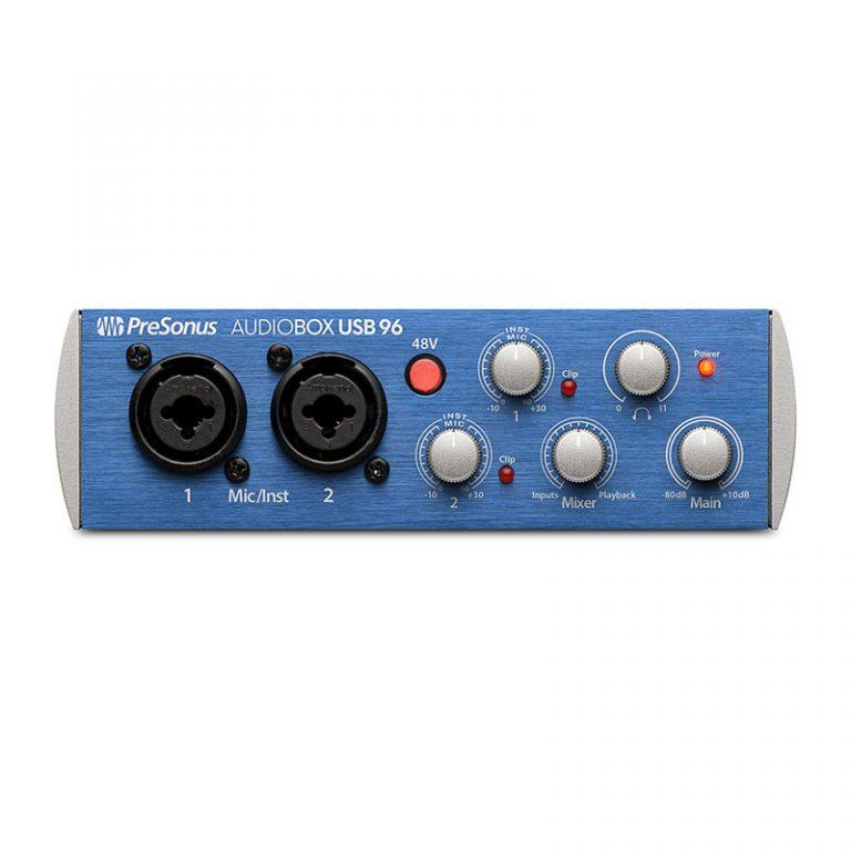کارت صدا پریسونوس Presonus AudioBox USB 96 Studio