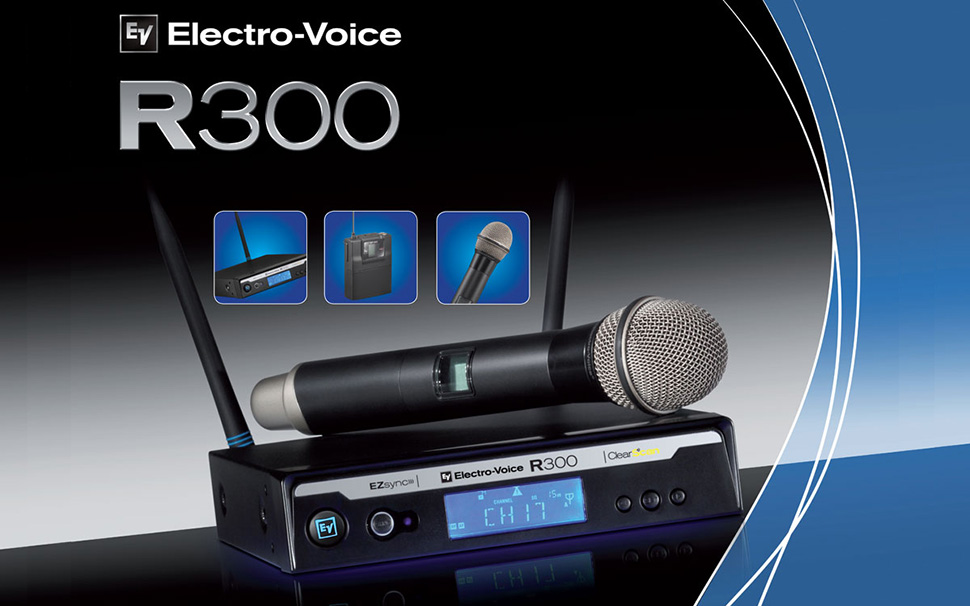 میکروفن بیسیم الکتروویس Electro Voice R300-HD