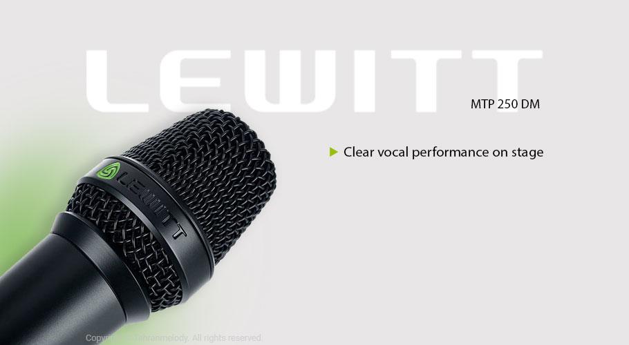 میکروفن با سیم لویت Lewitt MTP 250 DM
