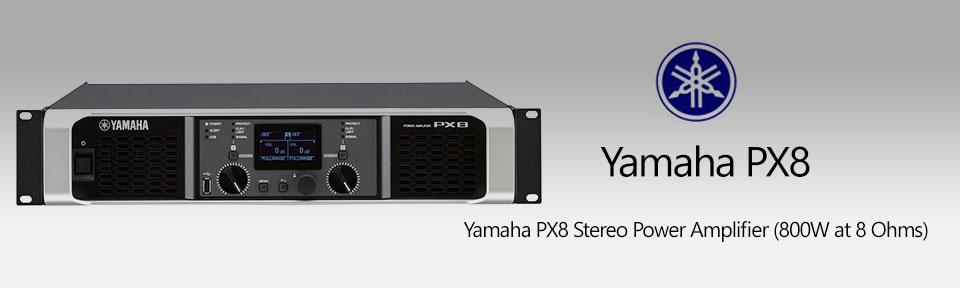 آمپلی فایر یاماها Yamaha PX8