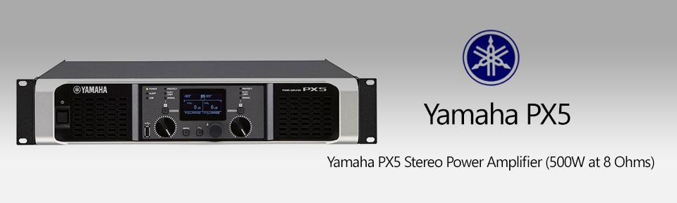 آمپلی فایر یاماها Yamaha PX5