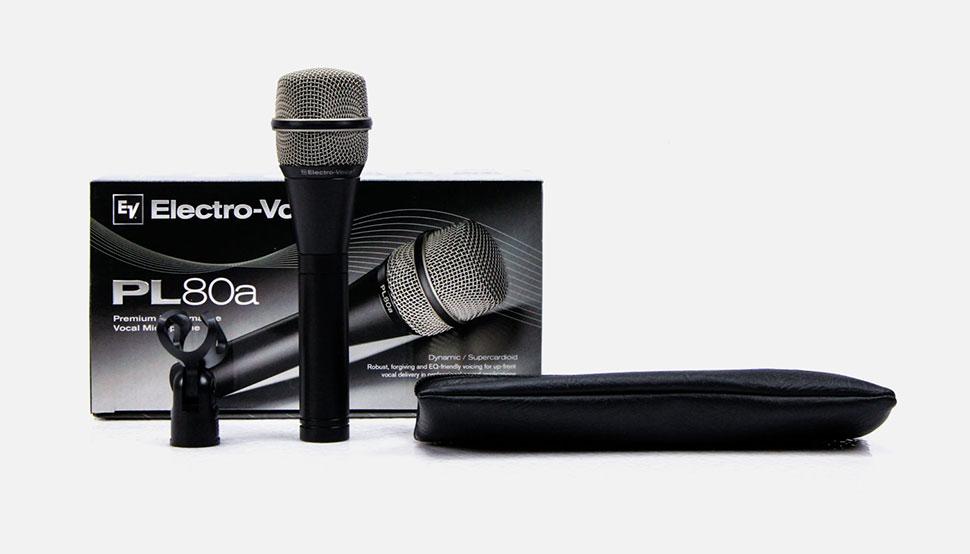 میکروفن با سیم الکتروویس Electro Voice PL-80a