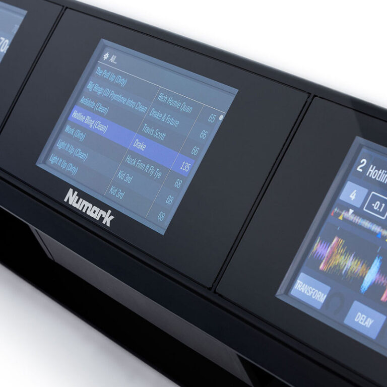 مانیتور دی جی کنترلر نیومارک Numark Dashboard
