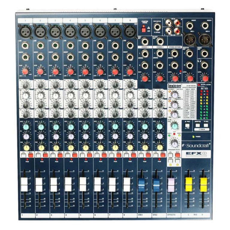 میکسر صدا سوندکرافت Soundcraft EFX8