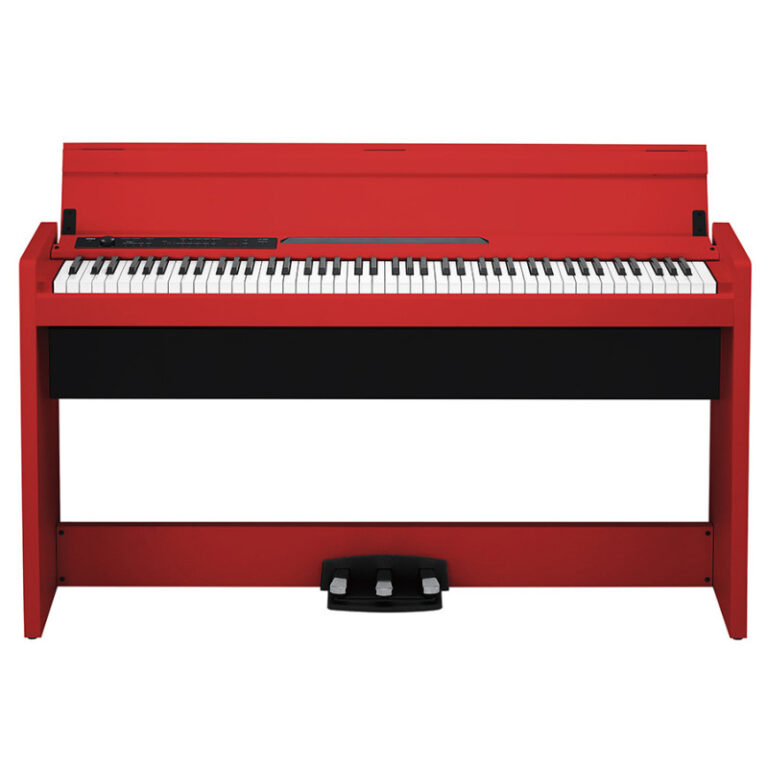 پیانو دیجیتال KORG LP-380-RD