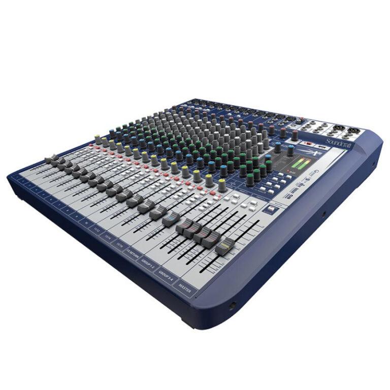 میکسر صدا  Soundcraft Signature 16