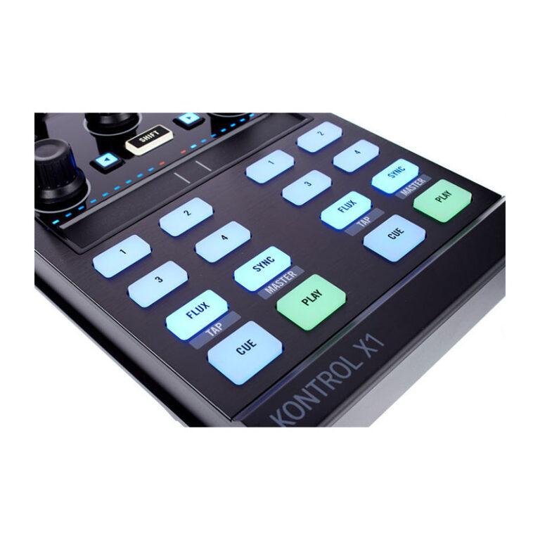 دی جی کنترلر نیتیو اینسترومنتز Native Instruments Traktor Kontrol X1 MK2