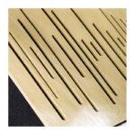 پنل آکوستیک دکونیک Deconik Wave Wood Bass Trap-Light-Brown