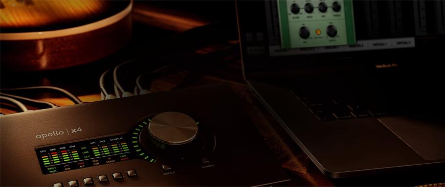 کارت صدا آدیو Universal Audio Apollo x4
