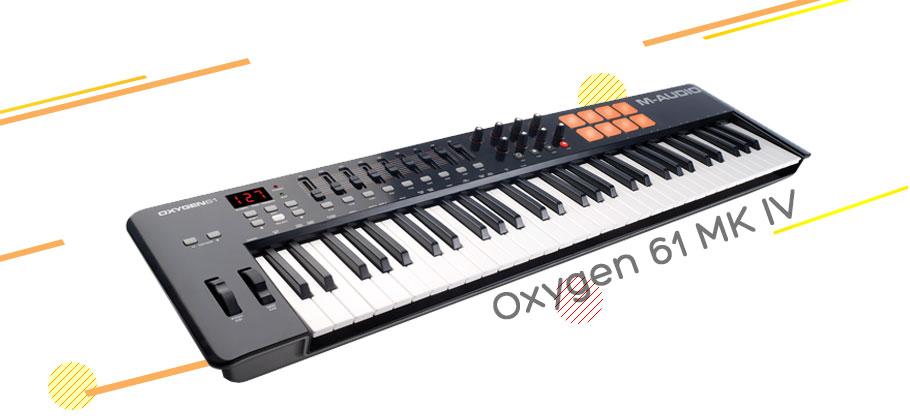 میدی کنترلر ام آدیو M-Audio Oxygen 61 MK IV