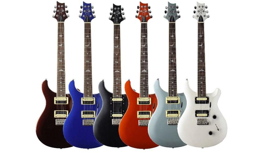 گیتار الکتریک پی آر اس PRS SE Standard 24 LTD Edition Cola Metallic