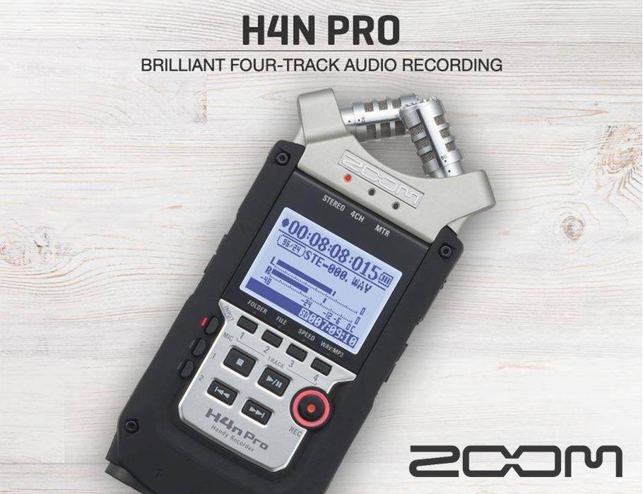 رکوردر صدا زوم ZOOM H4N Pro Handy Recorder