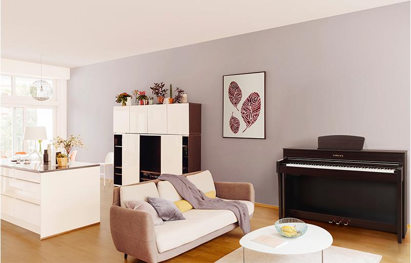 پیانو دیجیتال یاماها Yamaha CLP-645 BK