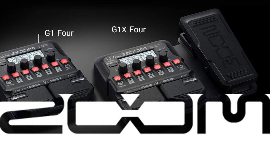 افکت گیتار الکتریک زوم Zoom G1X Four