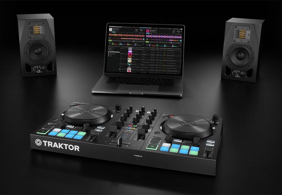 دی جی کنترلر نیتیو اینسترومنتز Native Instruments Traktor Kontrol S2 MK3