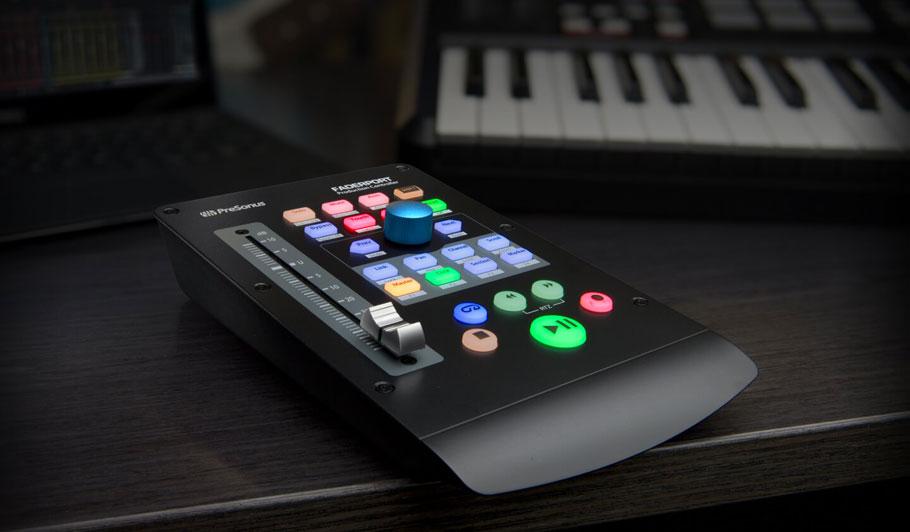 کنترلر نرم افزار پریسونوس PreSonus FaderPort V2 Production Controller