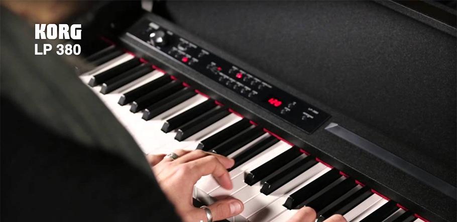 پیانو دیجیتال کرگ KORG LP-380-BK