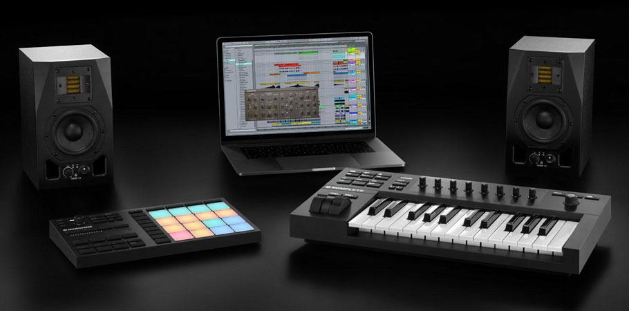 میدی کنترلر نیتیواینسترومنتز Native Instruments Komplete Kontrol A25