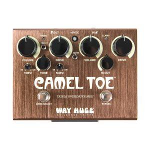 افکت گیتار الکتریک دانلوپ Dunlop WHE209 Way Huge Camel Toe Triple Overdrive MKII
