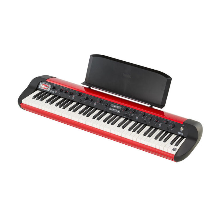پیانو دیجیتال کرگ Korg SV-1 73-Metallic Red