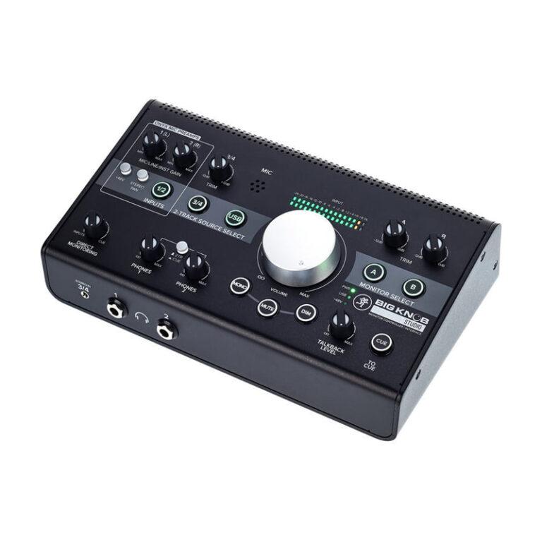 کنترلر صدا و کارت صدا  مکیMackie Big Knob Studio