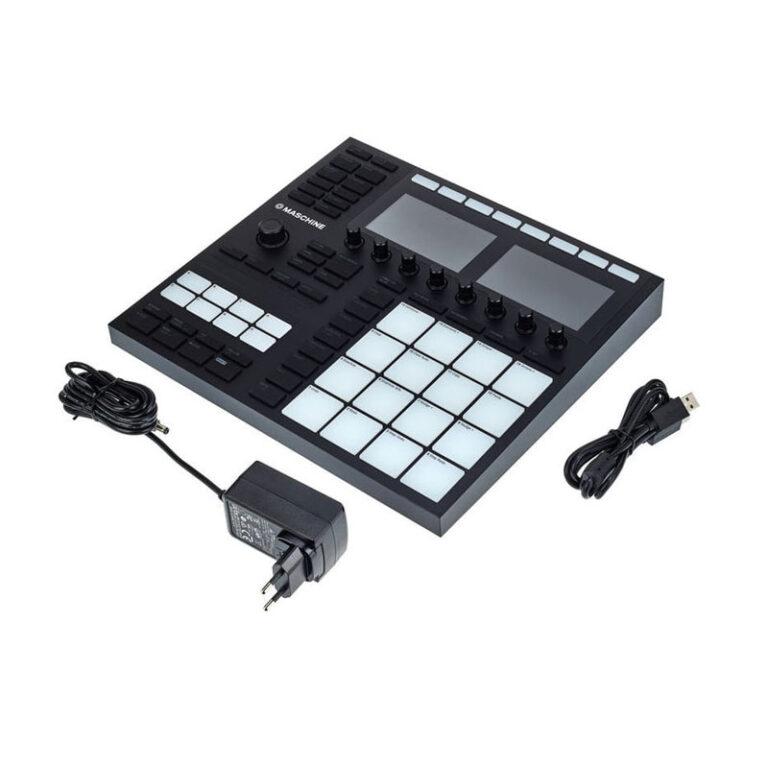 دی جی کنترلر نیتیواینسترومنتز Native Instruments Maschine MK3 Black