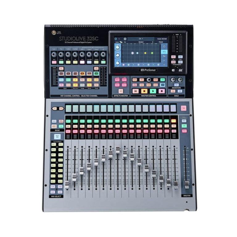 میکسر صدا پریسونوس PreSonus StudioLive 32SC