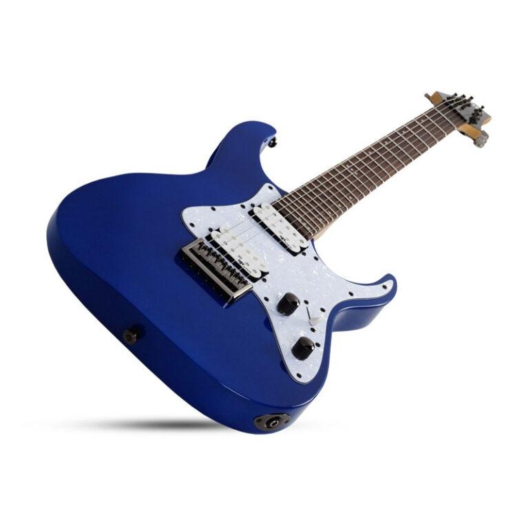 گیتار الکتریک شکتر Schecter Banshee-6 SGR Electric Blue EB SKU #3854