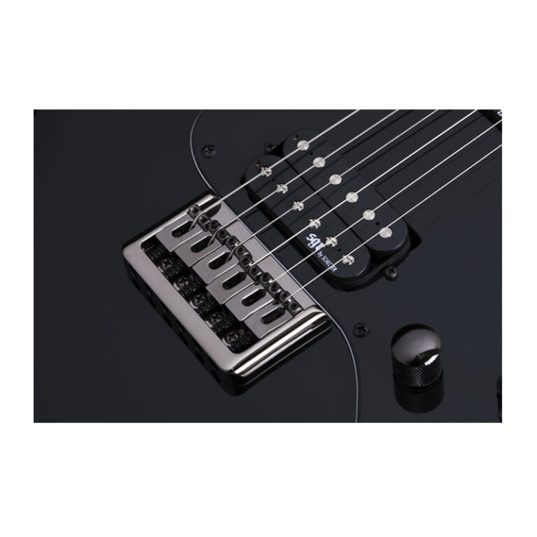گیتار الکتریک شکتر Schecter Banshee-6 SGR Gloss Black BLK SKU #3851