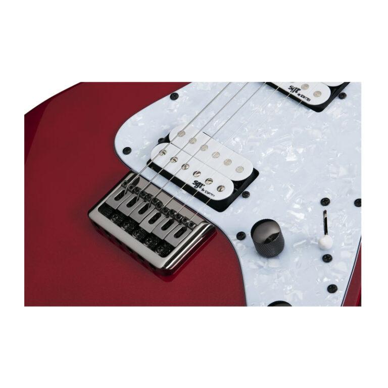 گیتار الکتریک شکتر Schecter Banshee-6 SGR Metallic Red MRED SKU #3855