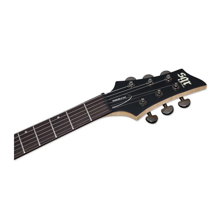 گیتار الکتریک شکتر Schecter Banshee-6 SGR Walnut Satin WSN SKU #3853