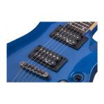 گیتار الکتریک شکتر Schecter C-1 SGR Electric Blue EB SKU #3804