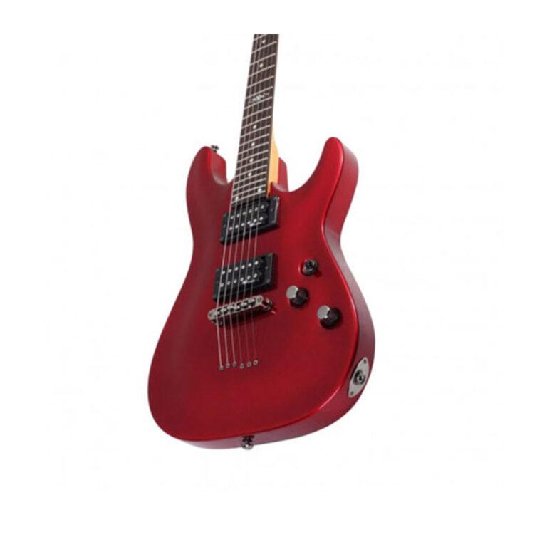 گیتار الکتریک شکتر Schecter C-1 SGR Metallic Red MRED SKU #3803