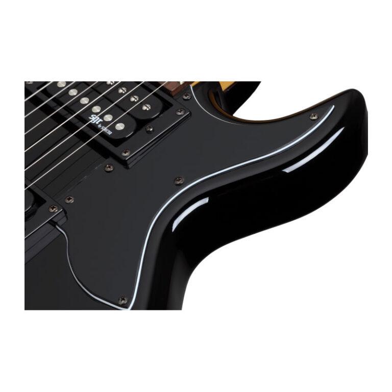 گیتار الکتریک شکتر Schecter S-1 SGR Gloss Black BLK SKU #3819