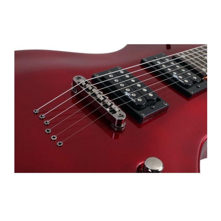 گیتار الکتریک شکتر Schecter Solo II SGR Metallic Red MRED
