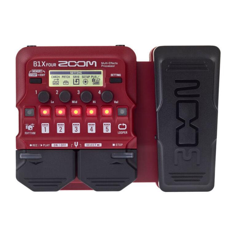 افکت گیتار الکتریک زوم Zoom B1X Four