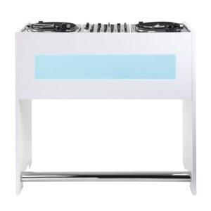 میز دی جی گلوریوس Glorious GigBar White