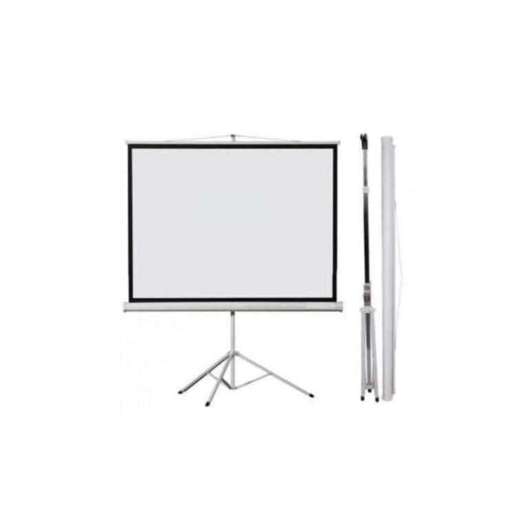 پرده نمایش اسکوپ Scope 150×150 Projection Screen With Stand