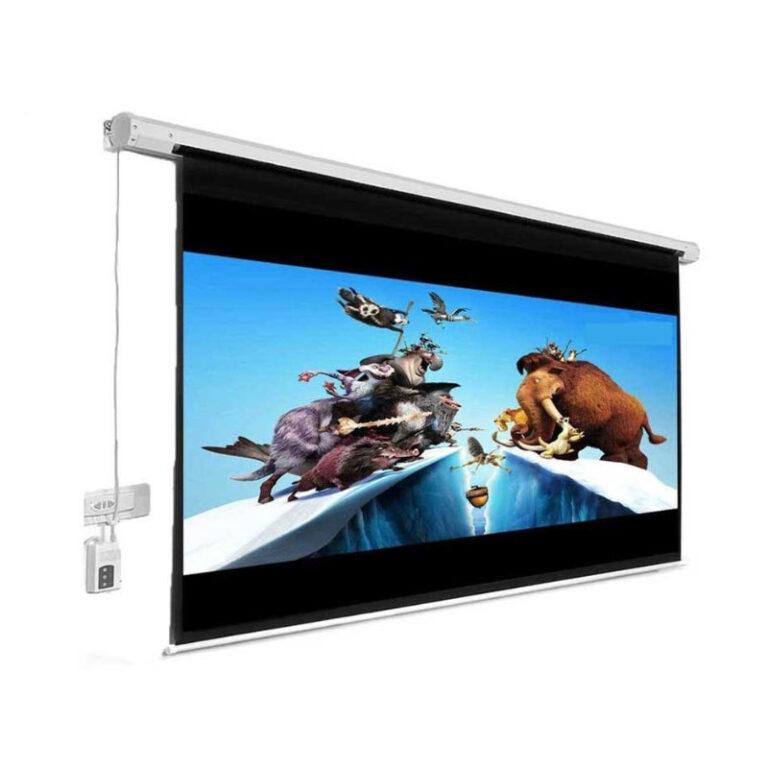 پرده نمایش اسکوپ Scope 180×180 Electric Projection Screen