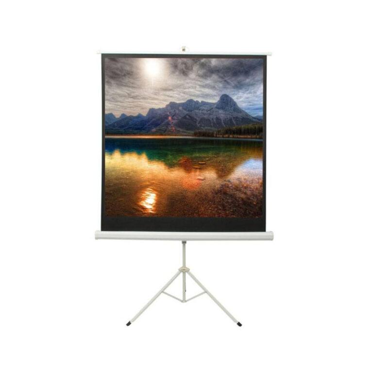 پرده نمایش اسکوپ Scope 200×200 Projection Screen With Stand