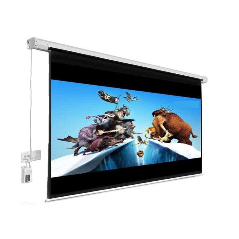 پرده نمایش اسکوپ Scope 250×250 Electric Projection Screen