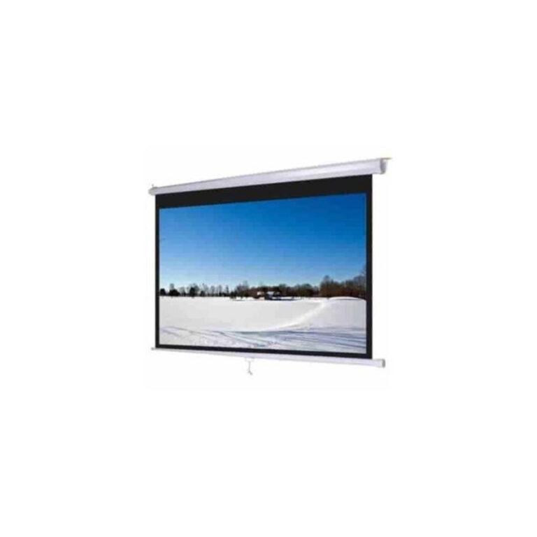 پرده نمایش اسکوپ Scope 300×400 Electric Projection Screen