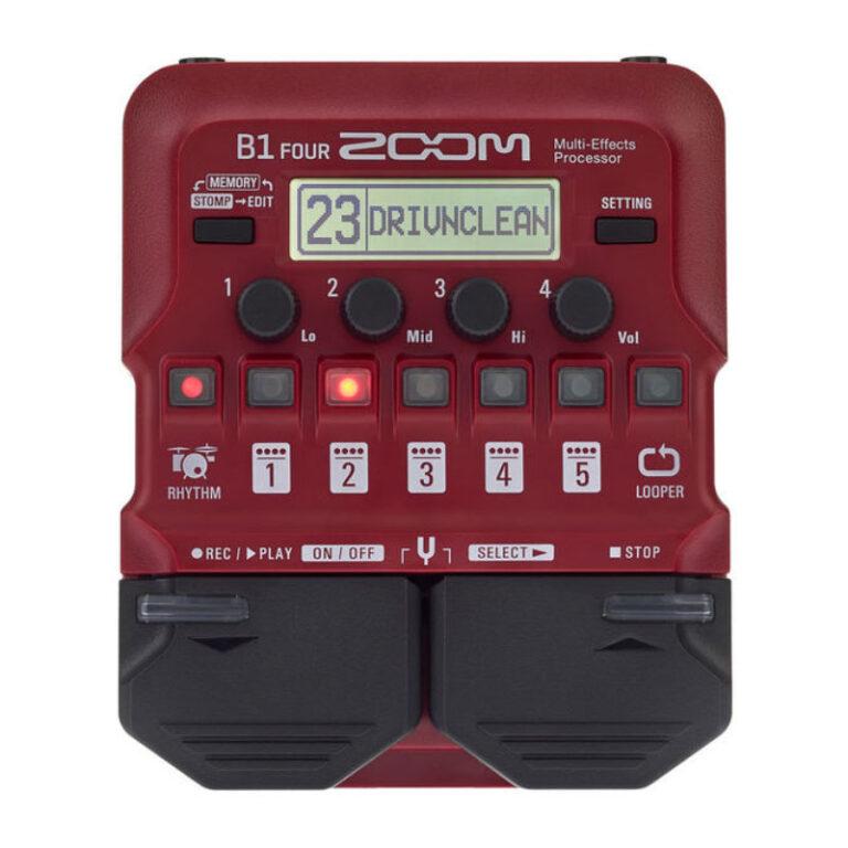 افکت گیتار الکتریک زوم Zoom B1 Four