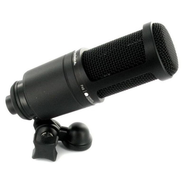 میکروفن آدیو تکنیکا Audio-Technica AT2020 (کارکرده)