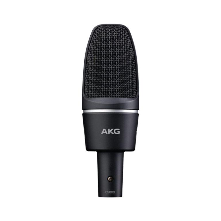 میکروفون استودیویی – کاندنسر ای کی جی AKG C3000 (کارکرده)