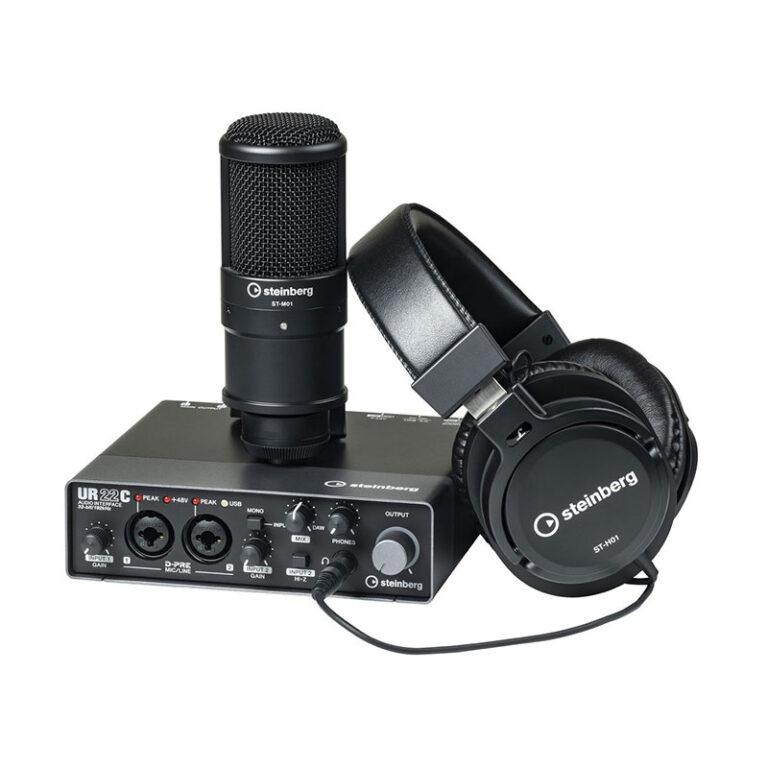 پکیج کارت صدا اشتنبرگ Steinberg UR22C Recording Pack